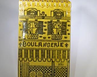 "Vintage ""boulangerie"" coin bank"