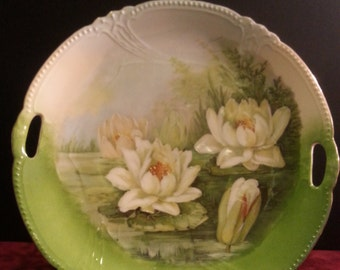 Antique Water Lilly Cakeplete