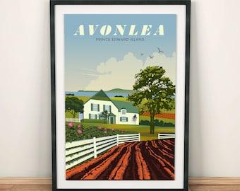 Anne of Green Gables, Avonlea   Travel Poster   Unframed
