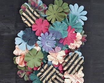 24 flowers, blossoms paper PRIMA MARKETING