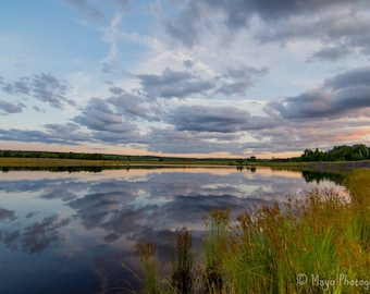 Sunset Reflections in the Keweenaw