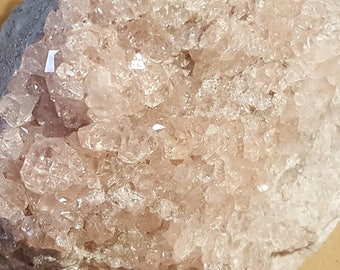 Beautiful Pink Grossularite specimen