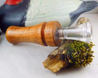Duck Call Single Reed in Mesquite with an Echo Insert  #312