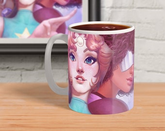 Crystal Gems - Steven Universe Ceramic Mug