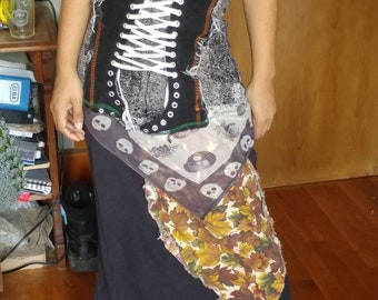 Upcycled skirt of epicness