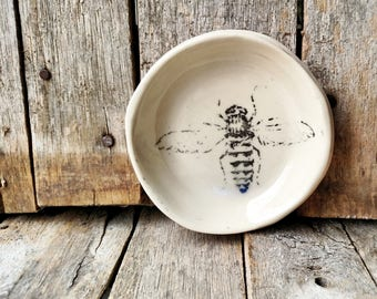 Bee Ring Dish - Please allow 2 - 3 weeks for shipping
