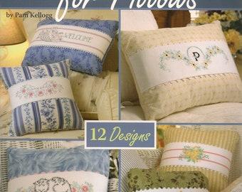 Cross Stitch Patterns,Cottage Cross Stitch For Pillows,Cross Stitch Pillow Patterns,Cross Stitch Embroidery Pillows,Cross Stitch Designs