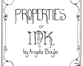 Properties of Ink (Comic Book)