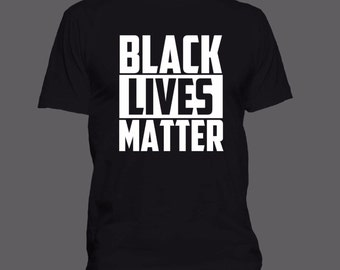 Black Lives Matter T-shirt Mens/Womens/Youth (S-4XL) 100% Ringspun Cotton Anvil Shirts   ++ Includes a free RESIST button ++