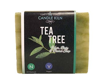 Tea Tree All-Natural PREMIUM Cold Process Soap