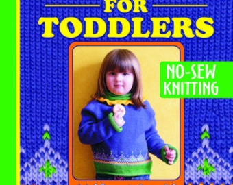 Best of Top Down for Toddlers Knitting eBook, pdf download, 10 sweater patterns, 3 hat patterns, DK weight yarn