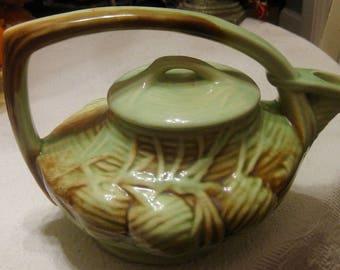 McCoy Pinecone Teapot
