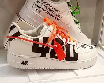 Nike Air force One Custom Off White