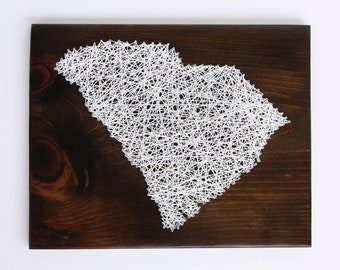 South Carolina String Art