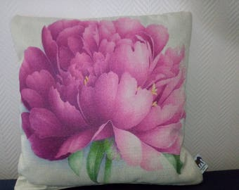 Blossoming flower pillow