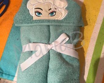 Ice Queen Hooded Towel