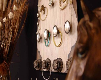 Wall  Jewelry Organizer The Equestrian Dangleboard the NEW jewelry board - FREE SHIPPING