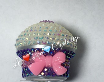 Cute cupcake Lip Balm (yummy natural flavor)