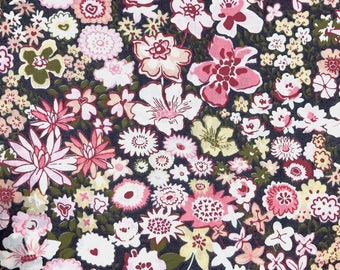 Coupon of fabric Liberty tana lawn Boženka 95x137cm pink