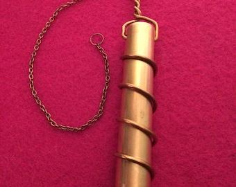 Copper Pendulum