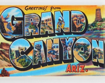 Greetings from Grand Canyon Fridge Magnet
