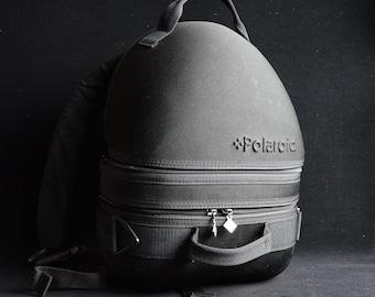 VINTAGE Polaroid Hardshell 3-BAG-IN-1 Camera Backpack Case