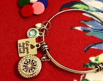 Essential Oil Diffuser Bracelet//Motivation//Inspiration//Gift