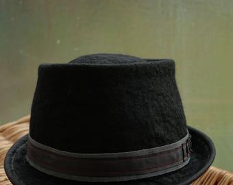 wool felt hat, wet felting,hats