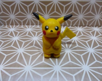 Pikachu Polymer Clay figurine