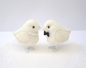 His and Hers Fabric Bird set