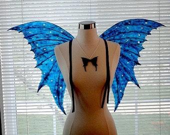Fee Flügel-blau Arwen Fee Flügel (Massanfertigung auf Anfrage)