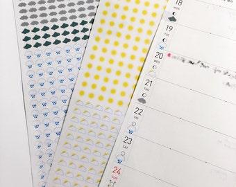 Weather Sticker - Hobonichi Weeks
