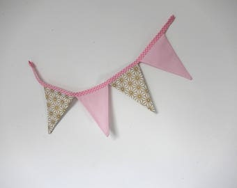Small Garland of Bunting decoration