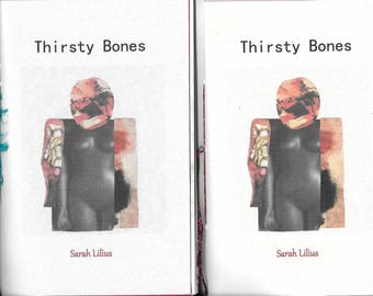 NEW! Thirsty Bones by Sarah Lilius - 2017 Blood Pudding Press Poetry Chapbook - a female body is her own
