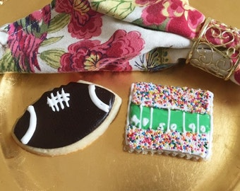 Football and Stadium Designer Cookies
