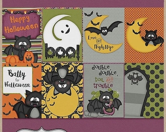 On sale 50% off Gone Batty Pocketcards