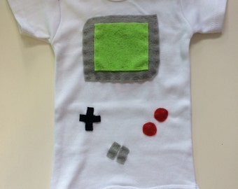 Gamer Baby Onesie And Rattle Gift Set