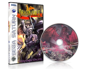 Dragon Force Reproduction for the Sega Saturn