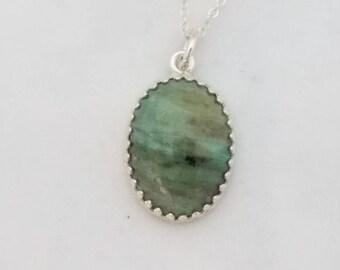 Pilbara Prase necklace