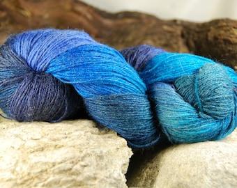 handdyed yarn -  100g/3,5 oz. -  Colour 38