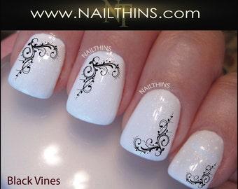 Vines Nail Decal, Nail Art Design by NAILTHINS