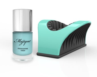 Majique Nail Buddy Turquoise and 'Peppermint' Nail Polish