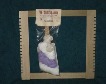 Wood Weaving Loom Kit Kids Beginner Re-Discovery
