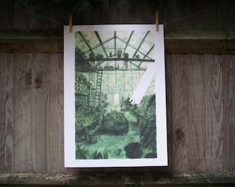 Greenhouse Print