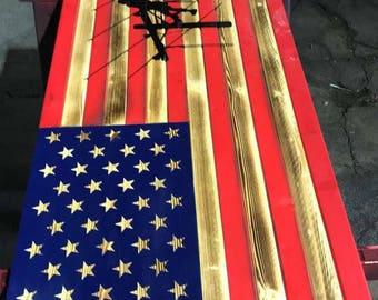 Lineman 2 flag NO Compartment
