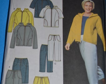 Simplicity 9267 Misses Jacket Pants or  Shorts and Skirt  Sewing Pattern - UNCUT - Sizes 8 10 12 14 or Size 16 18 20 22
