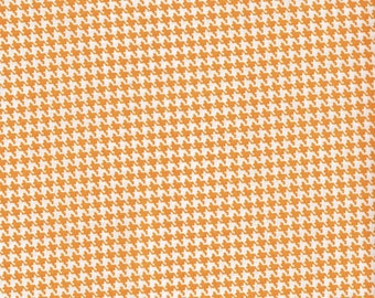 Gold Houndstooth Fabric, Cotton Fabric, Fabric by the yard, gold fabric, quilting fabric
