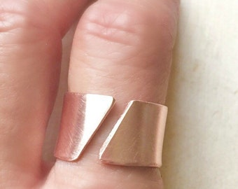 Wide copper ring, copper adjustable ring,copper ring, rings, arthritis ring, copper anniversary ring, copper jewelry,copper