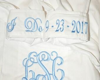 Button Down Shirt, Bride Button Down, Personalized Bride Shirt, Getting Ready Shirt, Monogrammed Shirt, I Do, Wedding Day Attire