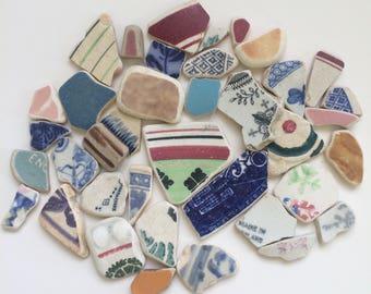 Scottish Sea Pottery Lot